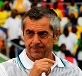 L'ancien international français Alain Giresse a été nommé sélectionneur de l'équipe nationale du Sénégal. /Photo d'archives/REUTERS/Thomas Mukoya