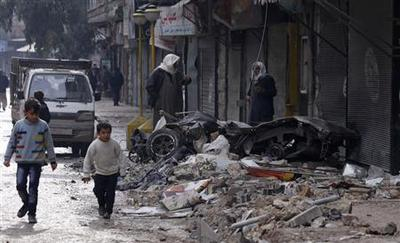 U.N. envoy says 40 years of Assad family rule is ''too...