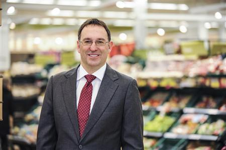 Tesco's new UK Managing Director Chris Bush is seen in an undated photo released January 10, 2013. REUTERS/Tesco/handout