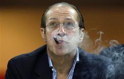 Paolo Berlusconi, fratello minore di Silvio Berlusconi. Milano, 21 settembre 2011. REUTERS/Stefano Rellandini