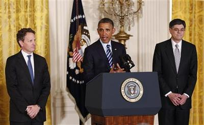 Obama nominates Lew to succeed Geithner at Treasury