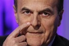 Il leader del Pd Pier Luigi Bersani. REUTERS/Giampiero Sposito