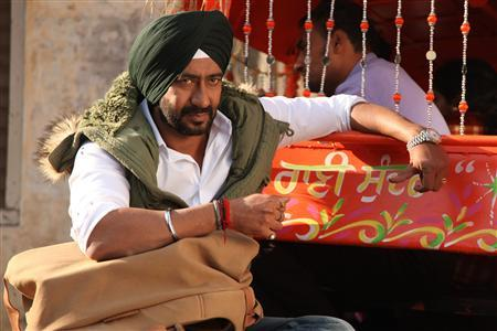 Handout picture of Ajay Devgn from the movie 'Son of Sardaar'. REUTERS/Handout