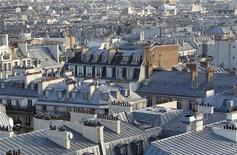 L'indice de référence des loyers français a progressé de 1,88% sur un an au quatrième trimestre, accentuant sa décélération commencée début 2012, selon les chiffres publiés vendredi par l'Insee. /Photo d'archives/REUTERS/Mal Langsdon