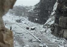Rebeldes enfrentam falta de unidade na luta que já dura quase dois anos para derrubar o presidente sírio Bashar al-Assad. 09/01/2013.REUTERS/Yazan Homsy