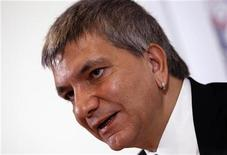 Il leader di Sel Nichi Vendola. REUTERS/Tony Gentile