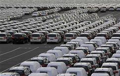 Associação industrial da China prevê que vendas de automóveis no país devem crescer 7 por cento em 2013. 08/01/2013 REUTERS/Jose Manuel Ribeiro