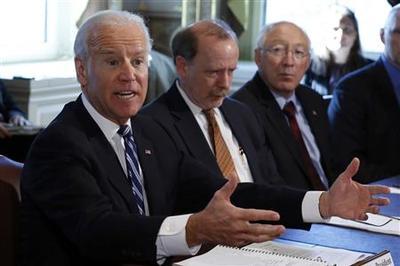 Biden draws NRA ire in drive against gun violence