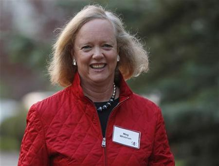 Hewlett Packard CEO and President Meg Whitman attends the Allen & Co Media Conference in Sun Valley, Idaho July 12, 2012. REUTERS/Jim Urquhart/Files