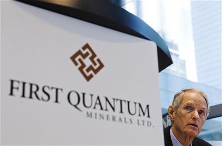 First Quantum Minerals Chairman, CEO and Director Philip Pascall looks on during their annual general meeting for shareholders in Toronto, May 9, 2012. REUTERS/Mark Blinch