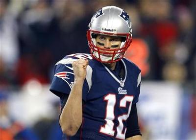 Brady powers Patriots past Texans into AFC title game