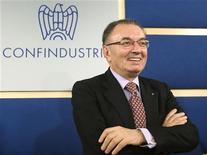 Il presidente di Confindustria Giorgio Squinzi. REUTERS/Remo Casilli