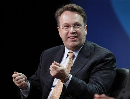 John Williams, president and chief executive of the Federal Reserve Bank of San Francisco, takes part in a panel discussion titled ''U.S. Overview: Is the Recovery Sustainable'' at the Milken Institute Global Conference in Beverly Hills, California May 1, 2012. REUTERS/Danny Moloshok