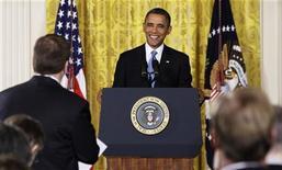 Il presidente Usa Barack Obama. REUTERS/Jonathan Ernst