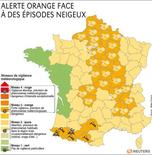 ALERTE ORANGE FACE À DES ÉPISODES NEIGEUX