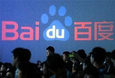 France Télécom-Orange a annoncé lundi avoir signé un partenariat stratégique avec le premier moteur de recherches chinois Baidu pour développer un navigateur mobile à destination des utilisateurs de smartphones en Afrique, au Moyen-Orient et en Asie. /Photo prise le 3 septembre 2012/REUTERS/David Gray