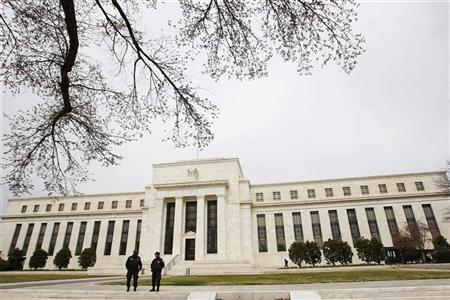 The U.S. Federal Reserve Building is pictured in Washington, March 18, 2008. REUTERS/Jason Reed/Files