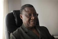 Les premiers éléments d'une force ouest-africaine devraient être déployés dans un délai d'une semaine environ au Mali. Un calendrier confirmé par Aboudou Touré Cheaka, le chef de la mission de la Cédéao au Mali (Micema). /Photo prise le 12 janvier 2013/REUTERS/Joe Penny