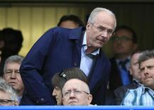 L'ancien sélectionneur de l'Angleterre Sven-Goran Eriksson, passé par de nombreux grands clubs européens, va rejoindre l'encadrement de Munich 1860. Son rôle exact reste encore à définir. /Photo prise le 13 mai 2012/REUTERS/Eddie Keogh