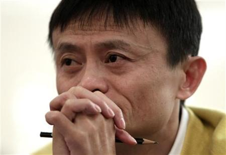 Jack Ma attends a news conference in Beijing, January 19, 2011. REUTERS/Jason Lee/Files