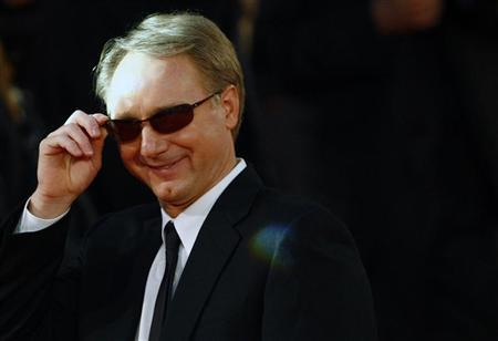 Author Dan Brown arrives at the world premiere of the movie ''Angels & Demons'' in Rome May 4, 2009. REUTERS/Alessia Pierdomenico