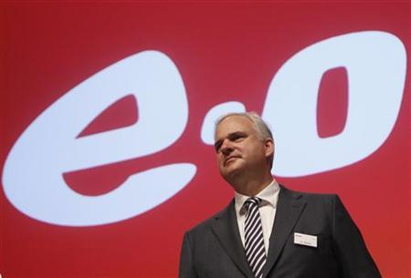 CEO of German utility giant E.ON Johannes Teyssen poses before the annual meeting of German utility giant E.ON in Essen May 3, 2012. REUTERS/Ina Fassbender