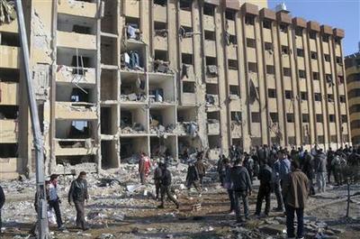 Explosions kill 83 at Syrian university as exams begin