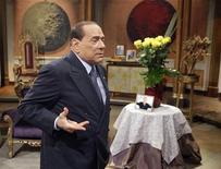 L'ex-presidente del Consiglio Silvio Berlusconi. REUTERS/Remo Casilli