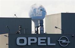 General Motors veut s'en tenir à une démarche progressive de redressement d'Opel malgré la montée du scepticisme quant à ses chances de réussite et les signes de pression de la France en faveur d'une cession de sa filiale européenne à PSA Peugeot Citroën. /Photo d'archives/REUTERS/Francois Lenoir