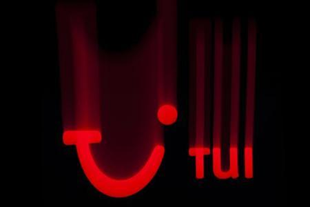 The logo of German tourism group TUI AG, owner of Europe's largest travel company TUI Travel, is pictured on a computer screen in this illustration picture taken in Lavigny May 20, 2012. REUTERS/Valentin Flauraud (SWITZERLAND - Tags: TRAVEL BUSINESS)