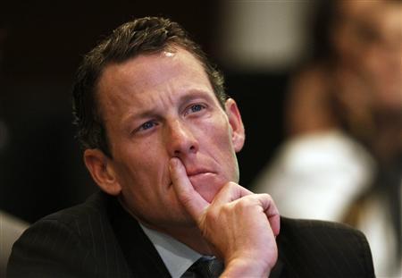 Lance Armstrong, founder of the LIVESTRONG foundation, takes part in the Clinton Global Initiative in New York, in this September 22, 2010 file photo. REUTERS/Lucas Jackson/Files