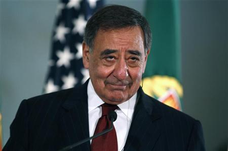 U.S. Defense Secretary Leon Panetta listens to questions from journalists during a news conference at Sao Juliao fortress, on the outskirts of Lisbon, January 15, 2013. REUTERS/Rafael Marchante