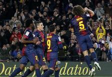 برشلونة يتعادل 2-2 مع ملقة في كأس ملك اسبانيا لكرة القدم