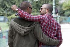 Le projet de loi sur le mariage et l'adoption pour les couples homosexuels a été adopté dans la nuit de mercredi à jeudi par la commission des Lois de l'Assemblée. /Photo prise le 1er octobre 2012/REUTERS/Régis Duvignau