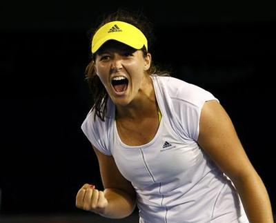 British teenager Robson upends eighth seed Kvitova