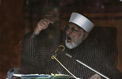 Cleric leading Pakistan protests reaches deal with...
