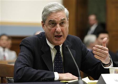FBI Director Robert Mueller testifies before the House Judiciary committee hearing on Capitol Hill in Washington May 9, 2012. REUTERS/Yuri Gripas