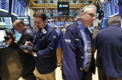 Housing, job data push S&P to five-year high; Intel...