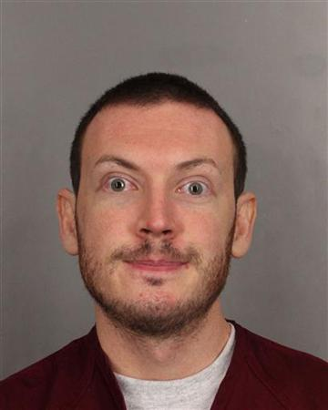James Holmes is seen in this undated police handout photo. Holmes, a former neuroscience graduate student, is accused of opening fire on July 20 at a midnight screening of the Batman movie ''The Dark Knight Rises'' in Aurora, a Denver suburb. REUTERS/Arapahoe County Sheriff's Office/Handout