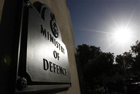 The Ministry of Defence building is seen in London, September 15, 2010. REUTERS/Suzanne Plunkett