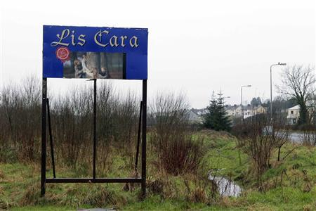 Lis Cara, an empty and unused housing development, is pictured in the town of Carrick On Shannon in County Leitrim in this file photograph dated January 28, 2012. REUTERS/Cathal McNaughton