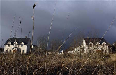 Lake View, an empty and unsold housing development is pictured in the village of Keshcarrigan, County Leitrim, January 28, 2012. REUTERS/Cathal McNaughton
