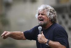Il leader del M5s e comico Beppe Grillo. REUTERS/Massimo Barbanera