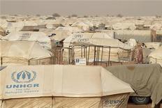 Un campo profughi in Mauritania. REUTERS/Joe Penney