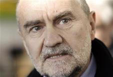 Herman Nackaerts, capo delelgazione dell'Agenzia atomica internazionale. REUTERS/Herwig Prammer