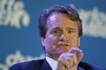 Bank of America Corp Chief Executive Officer Brian Moynihan speaks during the Charlotte Chamber's Economic Outlook Conference in Charlotte, North Carolina December 19, 2011. REUTERS/Chris Keane