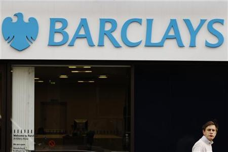 Signage for Barclays bank in London February 14, 2012. REUTERS/Luke MacGregor
