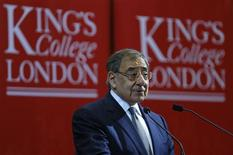 U.S. Defense Secretary Leon Panetta delivers a speech on the future of transatlantic relationships and the future of U.S. defense, at King's College in London January 18, 2013. REUTERS/Andrew Winning (BRITAIN - Tags: POLITICS MILITARY EDUCATION)