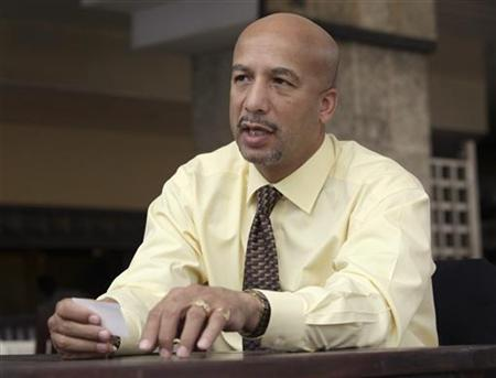 Ray Nagin, Mayor of New Orleans, talks during an interview in Havana October 20, 2009. REUTERS/Enrique De La Osa