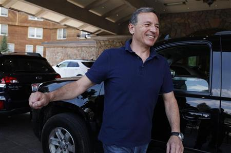 Disney's Iger gets more than $40 million pay for 2012